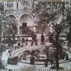 Postales: SEVILLA - PATIO DEL ASILO DE VENERABLES SACERDOTES. Lote 91832405