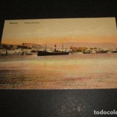 Postales: ALMERIA ENTRADA DEL PUERTO. Lote 92343030