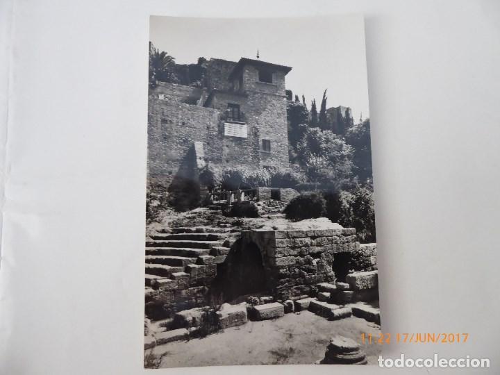 POSTAL MALAGA ALCAZABA TEATRO ROMANO, (Postales - España - Andalucía Antigua (hasta 1939))