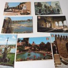 Postales: LOTE DE 7 FOTO-POSTALES A COLOR, CORDOBA. ED. FISA Y ED. PERGAMINO. Lote 93866900
