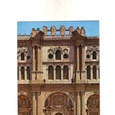 Postales: -9438 POSTAL DE MALAGA, CATEDRAL FACHADA PRINCIPAL, MONUMENTOS DE LA CIUDAD. Lote 94006165