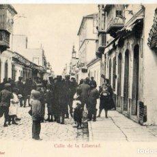 Postales: POSTAL ANTIGUA LA LINEA CALLE DE LA LIBERTAD. Lote 94167710