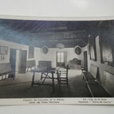 Postales: CLAUSTRO CONVENTO DE LA RABIDA 1943. Lote 94294110