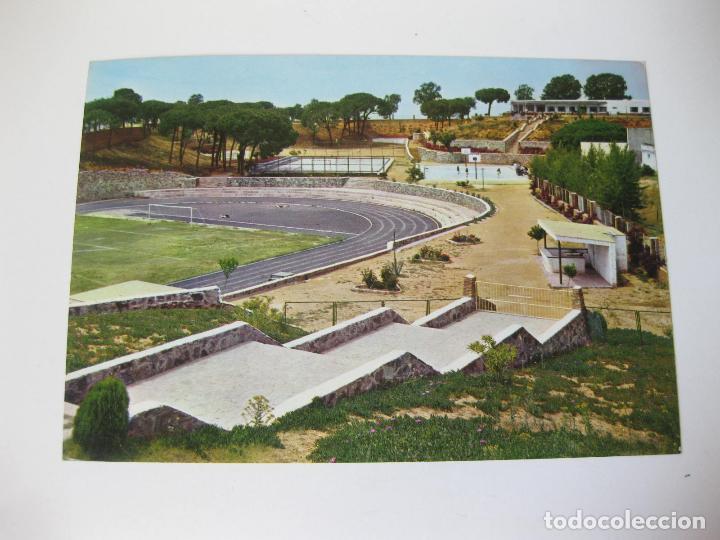POSTAL CIRCULADA DE LA CIUDAD DEPORTIVA DE HUELVA ENVIADA EN 1971 - 1967 (Postales - España - Andalucia Moderna (desde 1.940))
