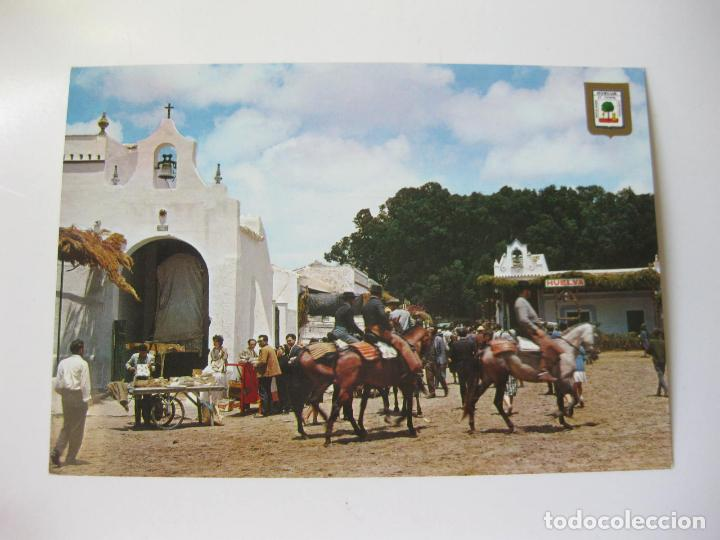 POSTAL DE LA ROMERIA DEL ROCIO EN HUELVA - A. SUBIRATS CASANOVAS (Postales - España - Andalucia Moderna (desde 1.940))