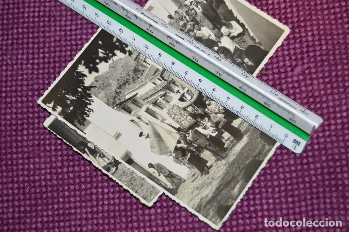 Postales: LOTE DE 2 ANTIGUAS POSTALES SIN CIRCULAR - DESFILES PROCESIONALES - GRAZALEMA - VINTAGE - HAZ OFERTA - Foto 3 - 94688359