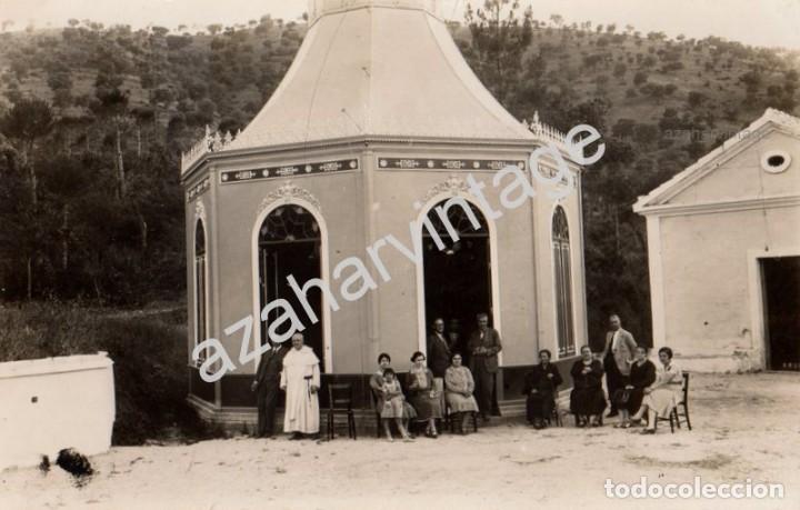 POSTAL FOTOGRAFICA BALNEARIO DE FUENTE AGRIA DE VILLAHARTA CÓRDOBA, FOT.SANTOS, RARISIMA (Postales - España - Andalucía Antigua (hasta 1939))