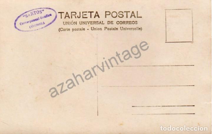 Postales: POSTAL FOTOGRAFICA BALNEARIO DE FUENTE AGRIA DE VILLAHARTA CÓRDOBA, FOT.SANTOS, RARISIMA - Foto 2 - 94709883