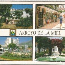 Postales: ARROYO DE LA MIEL MALAGA ESCRITA. Lote 95149779