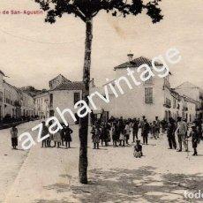 Postales: COIN, MALAGA, PLAZA DE SAN AGUSTIN, MUY RARA. Lote 95152699