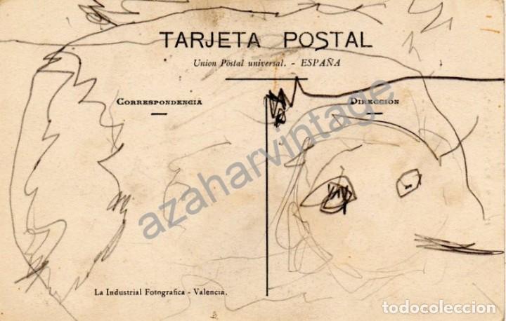 Postales: COIN, MALAGA, RIO BAJO, LA OLLA, MUY RARA - Foto 2 - 95152859