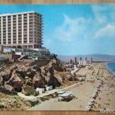 Postales: TORREMOLINOS - PLAYA DEL BAJONDILLO. Lote 95455135