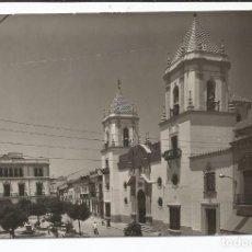 Postales: RONDA - PLAZA DEL GENERALÍSIMO E IGLESIA DE NTR. SRA. DEL SOCORRO - Nº 221. Lote 95477999