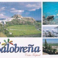 Postales: POSTAL SALOBREÑA. GRANADA. COSTA TROPICAL. Lote 95620059