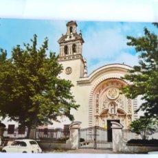 Postales: COLEGIO SAN ANTONIO MARIA CLARET (SEVILLA). COCHE SEAT 600. Lote 95831307