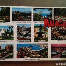 Postales: POSTAL MALAGA COSTA DEL SOL. Lote 95924479