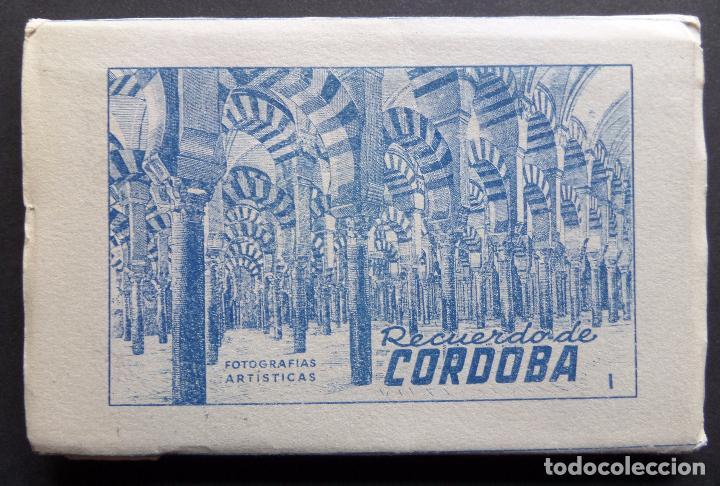 ANTIGUA CARPETA DE 10 POSTALES RECUERDO DE CORDOBA, EDICIONES ARRIBAS, VER FOTOGRAFÍAS Y COMENTARIOS (Postales - España - Andalucia Moderna (desde 1.940))