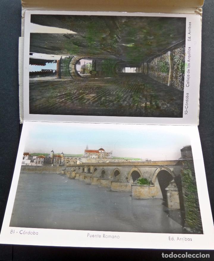 Postales: Antigua Carpeta de 10 postales Recuerdo de Cordoba, Ediciones Arribas, ver fotografías y comentarios - Foto 4 - 95930763
