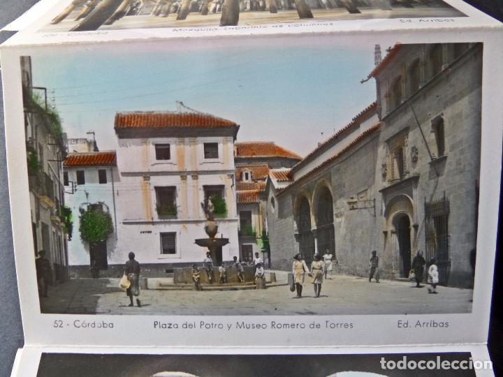 Postales: Antigua Carpeta de 10 postales Recuerdo de Cordoba, Ediciones Arribas, ver fotografías y comentarios - Foto 5 - 95930763