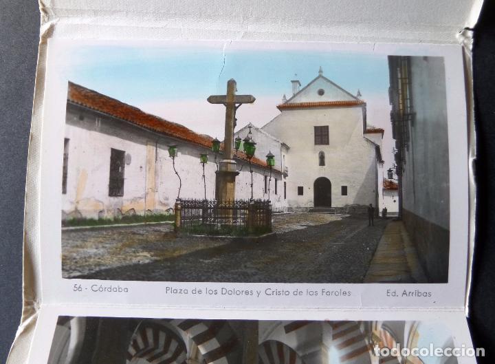 Postales: Antigua Carpeta de 10 postales Recuerdo de Cordoba, Ediciones Arribas, ver fotografías y comentarios - Foto 6 - 95930763