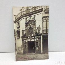 Postales: POSTAL FOTOGRAFICA SEVILLA CAPILLA DE SAN JOSE FOT.SERRANO. Lote 95945487