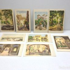 Postales: LOTE DE POSTALES PINTADAS A.L.V. DE SEVILLA EDICIONES M.RIVAS . Lote 95946991