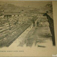 Postales: POSTAL MINAS DE RÍOTINTO,HUELVA, SIN CIRCULAR, ANTIGUA, LA QUE SE VÉ . Lote 95958852