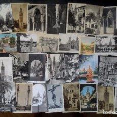 Postales: LOTE 36 POSTALES CPA VARIADAS DE SEVILLA , ALGUNAS BUSCADAS, VER FOTOS. Lote 95960727