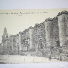 Postales: ANTIGUA POSTAL DE CORDOBA - MEZQUITA - PORTADAS DEL EXTERIOR DE LA CATEDRAL - ROISIN - NO CIRCULADA. Lote 95968959