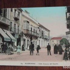 Postales: FOTO POSTAL DE ALGECIRAS. CADIZ. Nº 64. CALLE CANOVAS DEL CASTILLO. ED. V.L. SEVILLA. NO CIRCULADA.. Lote 96058279