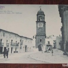 Postales: POSTAL DE CHICLANA, TORRE DEL RELOJ, N.6, PROPIEDAD G. Y T. CADIZ, FOT. CEMBRANO, NO CIRCULADA, SIN . Lote 96062019