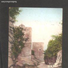 Postales: GRANADA. ALHAMBRA. TORRE DE LA CAUTIVA Y MUROS EXTERIORES. ANTERIOR AL 1905.. Lote 96112051