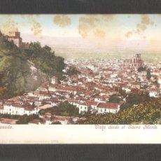 Postales: GRANADA. VISTA DESDE EL SACRO MONTE . ANTERIOR AL 1905. . Lote 96112275