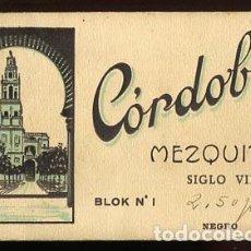 Postales: CÓRDOBA MEZQUITA BLOC COMPLETO CON 20 POSTALES. L. ROISIN, FOTÓGRAFO. Lote 96258415