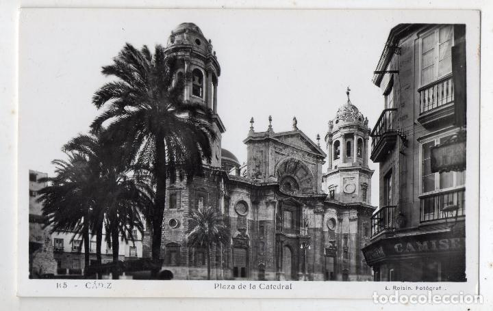 CÁDIZ. PLAZA DE LA CATEDRAL. (Postales - España - Andalucía Antigua (hasta 1939))