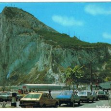 Postales: POSTAL DE GIBRALTAR. NORTH VIEW OF ROCK FROM AIR TERMINAL. ED. RPS. SIN CIRCULAR. Lote 96316759