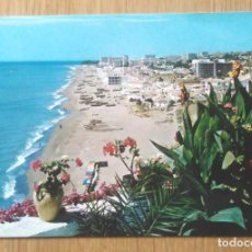 Postales: TORREMOLINOS - PLAYA DE LA CARIHUELA. Lote 96438651