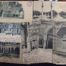 Postales: LOTE POSTALES ANTIGUAS - 7 POSTALES SEVILLA MONUMENTAL - BUEN ESTADO VER FOTOS CIRCULADAS. Lote 96486491