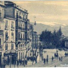 Postales: BONITA POSTAL - GRANADA - ACERA DEL CASINO Y EMBOVEDADO - MUY AMBIENTADA . Lote 96604291