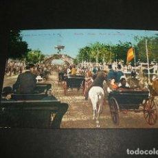 Postales: SEVILLA FERIA PASEO DE CARRUAJES ED. PURGER Nº 3462 DIVIDIDO COL. TOMAS SANZ Nº 72. Lote 96653503