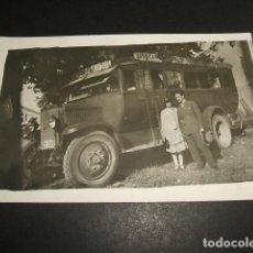 Postales: CADIZ POSTAL FOTOGRAFICA 1928 COCHE DE LINEA AUTOBUS LA HISPANO SANLUCAR CADIZ PUERTO REAL SAN FERNA. Lote 96935719
