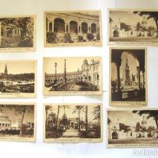 Postales: SEVILLA EXPOSICIÓN IBEROAMERICANA 8 POSTALES PABELLÓN DE SEVILLA INAGURACIÓN IBERO AMERICANA. Lote 97120135