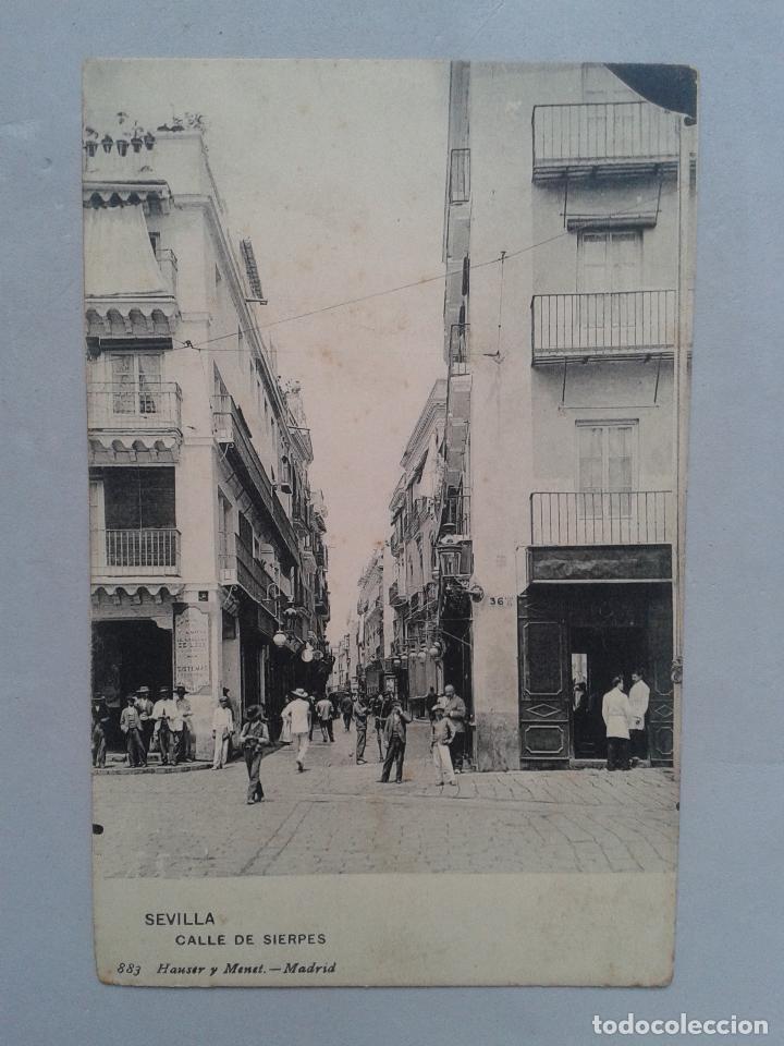 SEVILLA. CALLE DE SIERPES. (Postales - España - Andalucía Antigua (hasta 1939))