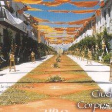 Postales: POSTAL VILLACARRILLO. CIUDAD DEL CORPUS. JAEN. Lote 97249459
