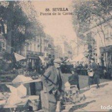 Postales: SEVILLA - PUERTA DE LA CARNE. Lote 97342463