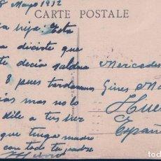 Postales - POSTAL ENVIADA POR JOSE HIERRO BAEZ A SU HIJA MERCEDES DESDE FRANCIA A HUELVA - VER REVERSO - 97578911