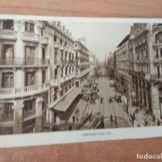 Postales: B-- POSTAL NUEVA DE GRANADA--GRAN VIA. Lote 97609743