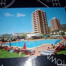 Postales: ANTIGUA POSTAL APARTAMENTOS ALOHA TORREMOLINOS 1975 CIRCULADA SELLO 2 PESETAS FRANCO. Lote 97671794