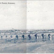 Postales: P- 7426. POSTAL CORDOBA, VISTA PANORAMICA DEL PUENTE ROMANO. Nº1 GALMES.. Lote 97678927