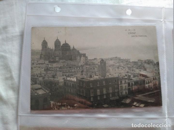 CADIZ VISTA PARCIAL H Y M. (Postales - España - Andalucía Antigua (hasta 1939))